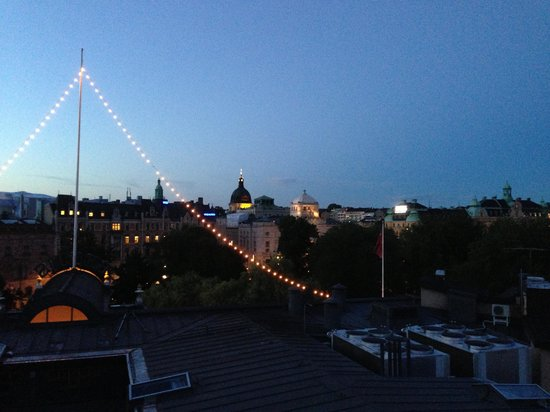 Berns Hotel: View from the roof bar