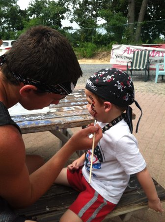 Jersey Shore Pirates: Face Painting