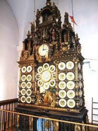Cathédrale Saint-Jean, Besançon : particolare  orologio astronomico