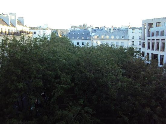 Austin's Saint Lazare Hotel: The view from our room