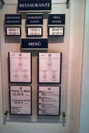 Poseidon Resort: comedor  horarios y precios
