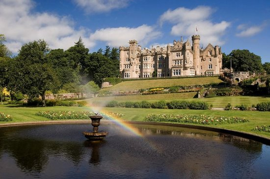 The Carnegie Club at Skibo Castle: Castle from fountain lawn