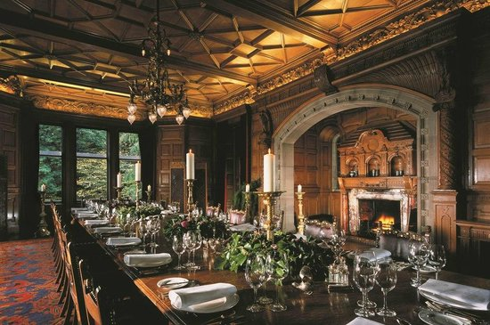Kincraig Castle Hotel Dining Room