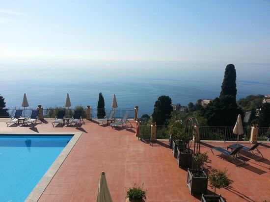 Grand Hotel San Pietro: vue de la terrasse