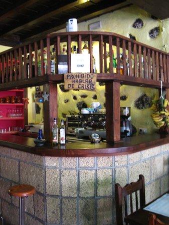 Los Pinos : un particolare dell' interno