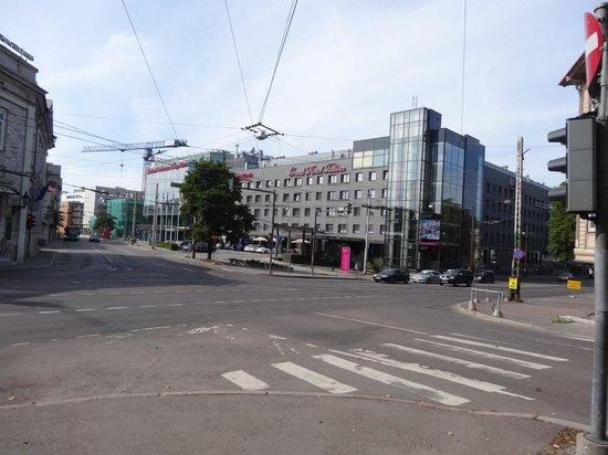 Park Inn by Radisson Meriton Conference & Spa Hotel Tallinn : Hotel exterior