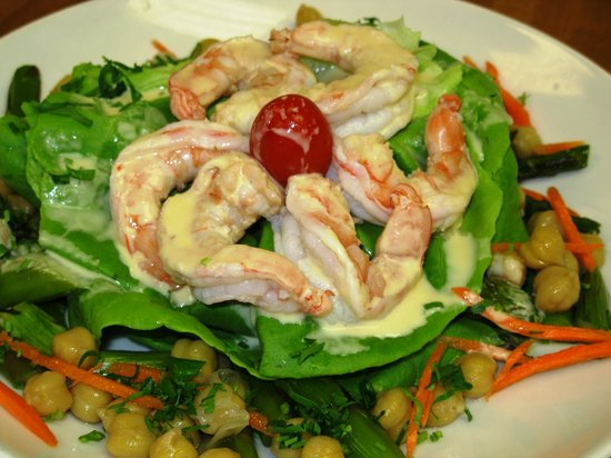 Brooks Tavern: Shrimp Salad