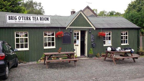 Brig o' Turk Tearoom and Restaurant : lovely spot