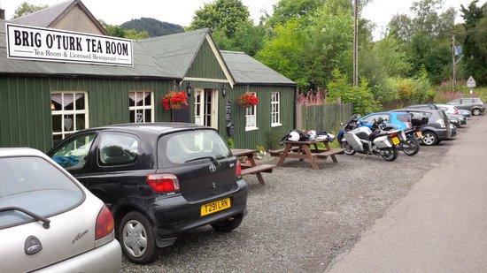 Brig o' Turk Tearoom and Restaurant : great coffee