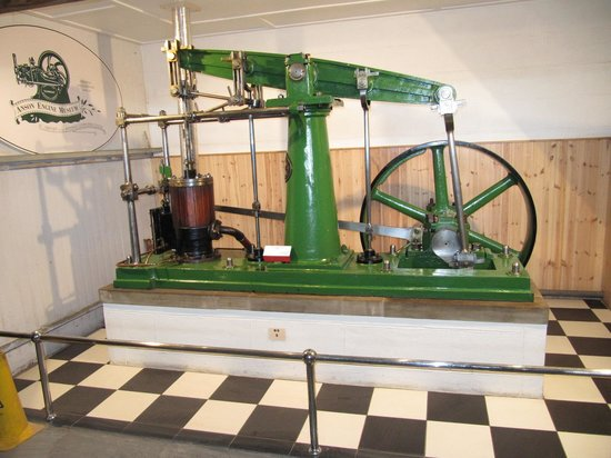 Anson Engine Museum: An old beam engine.