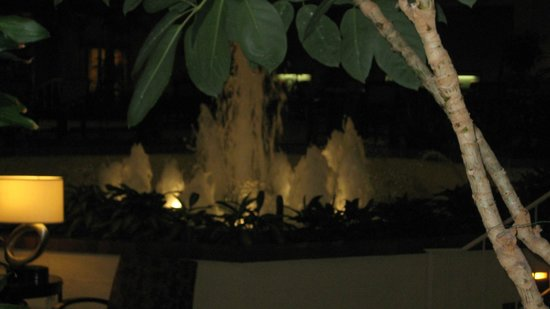 Holiday Inn Cincinnati Airport: Lobby fountain