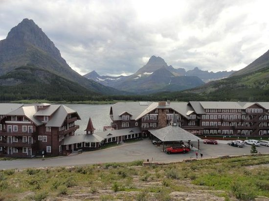 Prince Of Wales Waterton Canada Picture Of Glacier Park Red Bus Tours Glacier National
