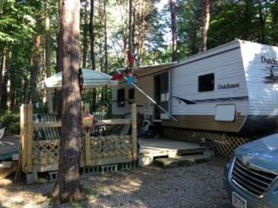 Evergreen Trails Campground : Evergreen Trails site