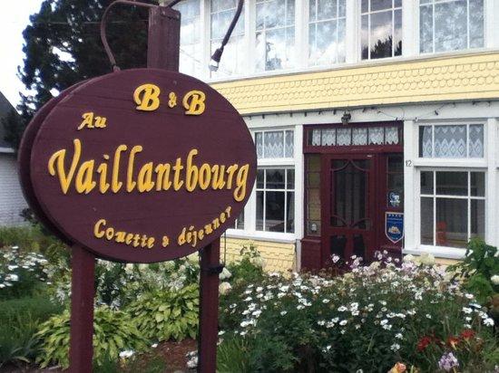 Au Vaillantbourg B&B: Un gîte fort accueillant