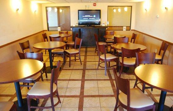 Super 8 Oklahoma City: Breakfast room