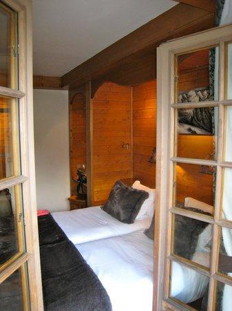 La Grange d'Arly: Chambre vue du balcon