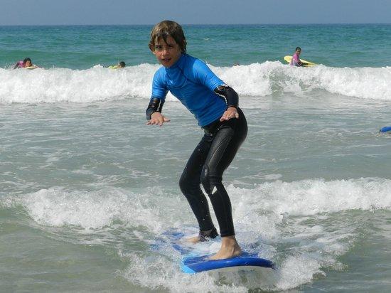 Zahara Surf: Con estilo al segundo dia!!!