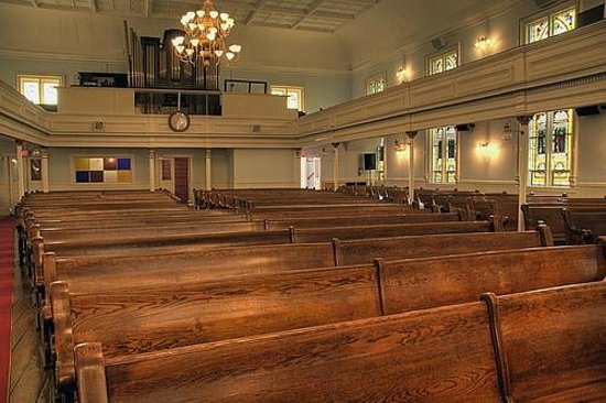 First African Baptist Church : Back view of Main Sanctuary