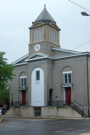 Outside view of First African Baptist Church