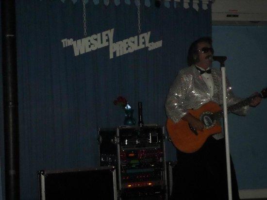 Tiki Bar: Wesley Presley show