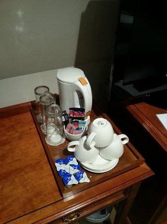 Staunton Hotel: Herbidor de agua en la habitación