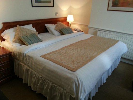 Staunton Hotel: Habitación doble (cama enorme)