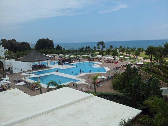 Hotel Fuerte Estepona : Vista desde la habitacion