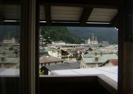 Haus Jermann: Veduta dal balcone