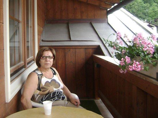 Haus Jermann: Fuori per fumare