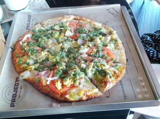Project Pie: Tomato sauce pizza