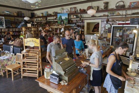 LaHave Bakery : The main room at the bakery