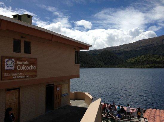 Hotel Mirador: Vista exterior de la hostería