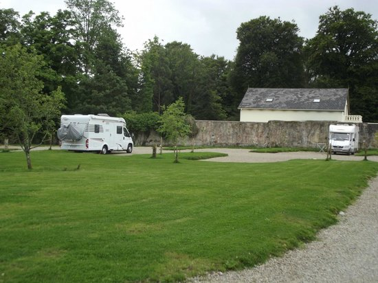 Dromquinna Manor: One of the lovely pitches on the site