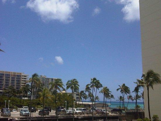 Lotus Honolulu at Diamond Head: Aussicht vom Zimmer 4. Stock