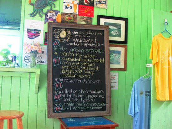 The Breakfast Club at Ola Lola's: TBC specials!!