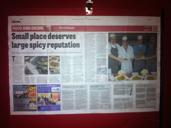 Curry Cabin: The sheffield star