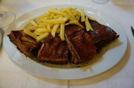 roasted suckling pig (crispy!)