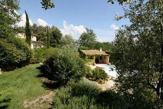 Le Marijas: Le pool house