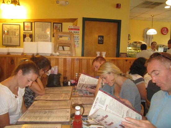 Country Pancake House: Look at the menu while in line for a table