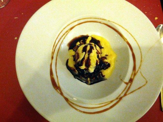 El Reservado: Brownie con helado