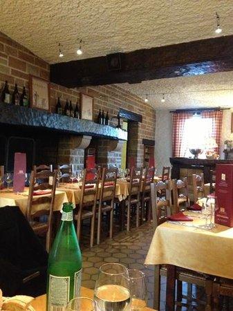 Restaurant Le Saloir Vigneron: la salle