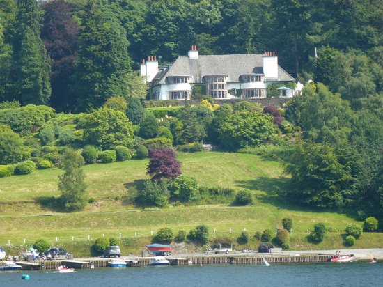 Windermere Lake Cruises: Broadleys (Designed by Vosey)