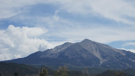 Dandelion Inn: Mt Sopris: Right out your door