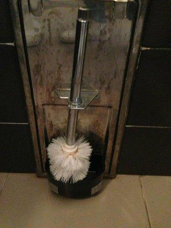 Hotel Terme Castaldi: il massimo dell'igiene!!! sporco e arrugginito.