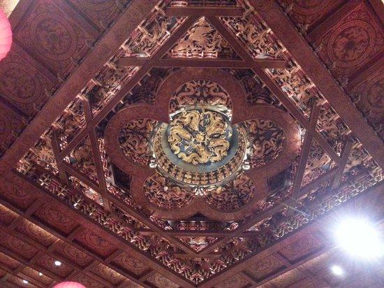 Grand Hotel Taipei: ロビー天井