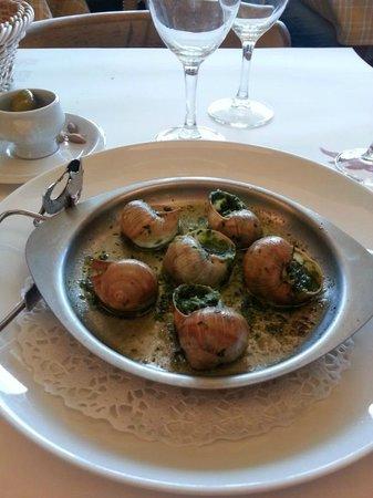 La Rôtisserie d'Argent : Delicious escargots