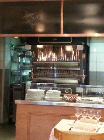 La Rôtisserie d'Argent : The rotisserie