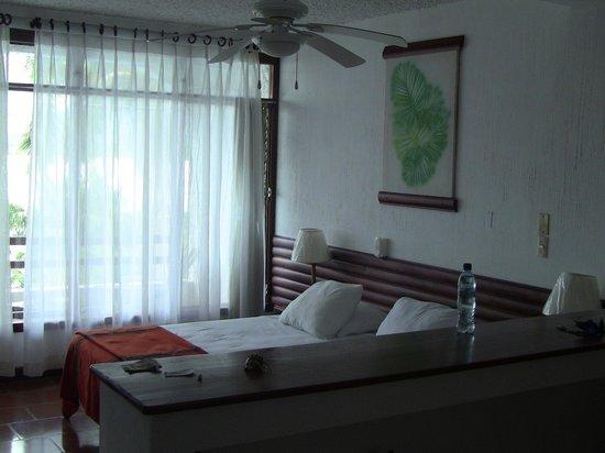 Hotel Villa Caribe : Room interior.