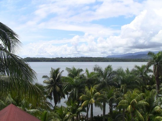 Hotel Villa Caribe: View from balcony
