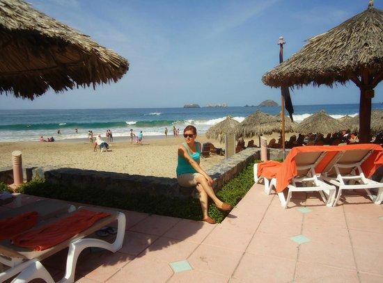 Sunscape Dorado Pacifico Ixtapa: Vista desde la piscina